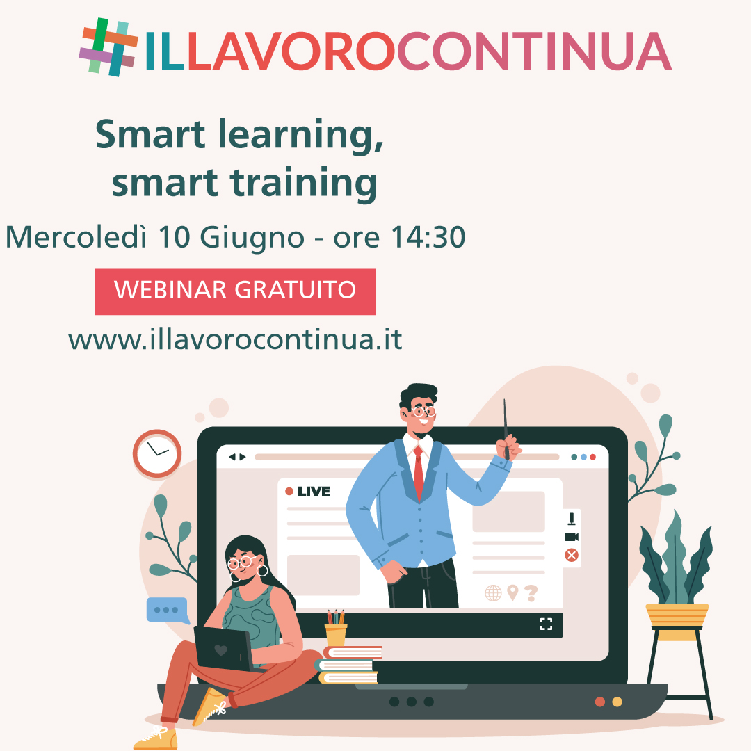 smart learning smart training webinar 10 giugno